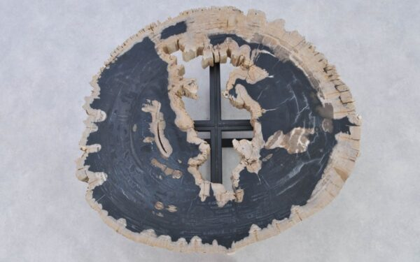 Table basse bois pétrifié 37184