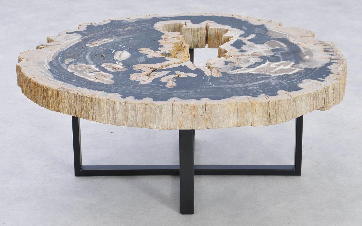 Table basse bois pétrifié 37188