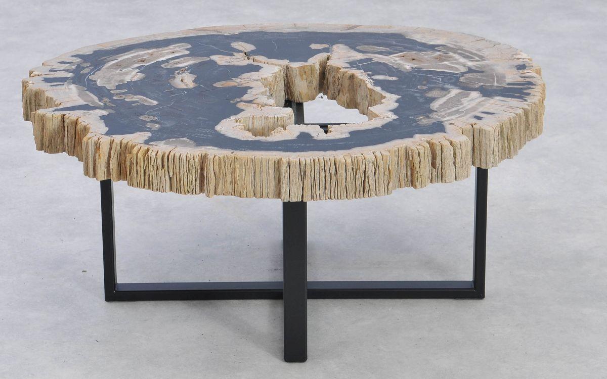 Table basse bois pétrifié 37190