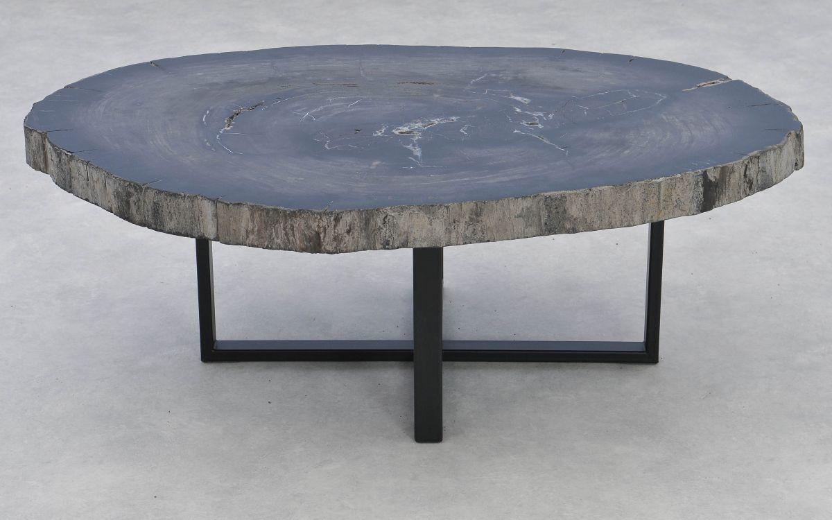 Table basse bois pétrifié 37274