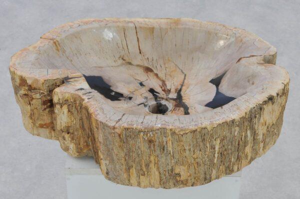 Waschbecke versteinertes Holz 37322