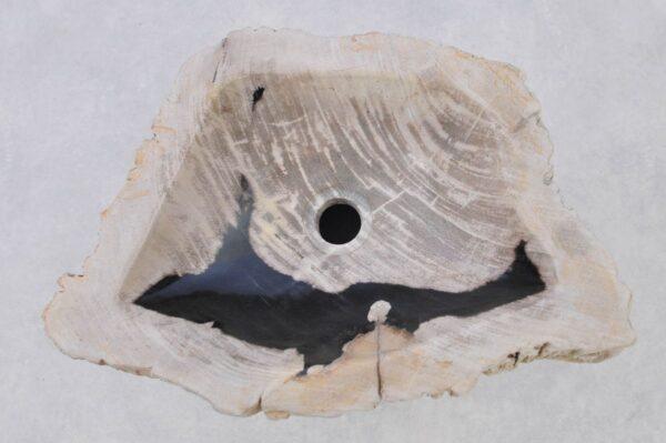 Waschbecke versteinertes Holz 37341
