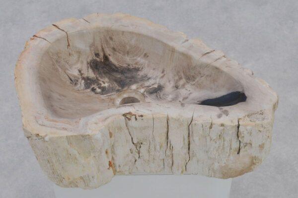 Waschbecke versteinertes Holz 37345