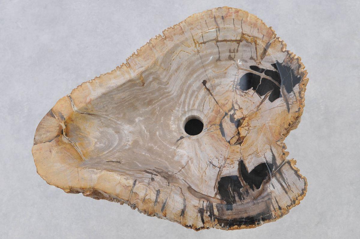 Wash hand basin petrified wood 37324