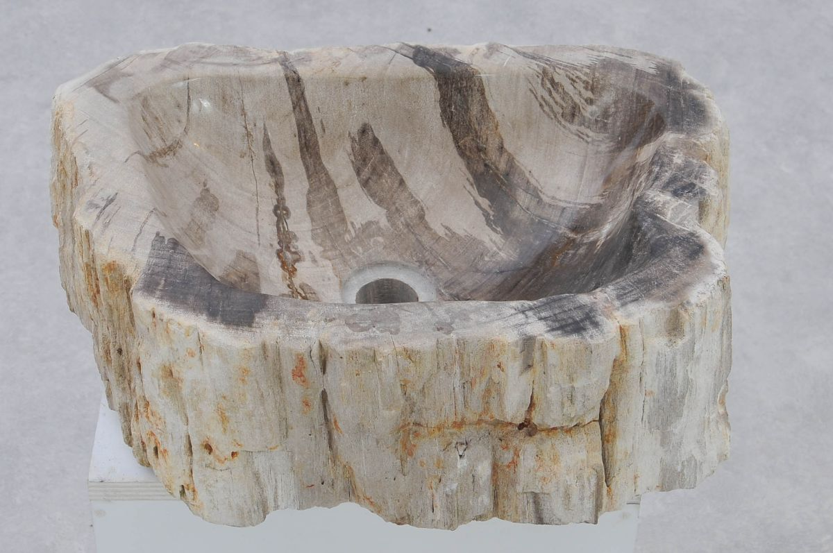 Wash hand basin petrified wood 37331