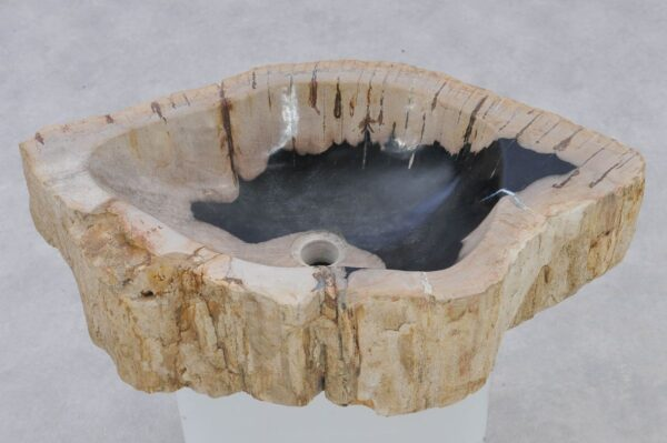 Wash hand basin petrified wood 37342