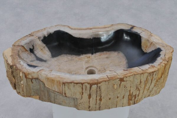 Wash hand basin petrified wood 37352