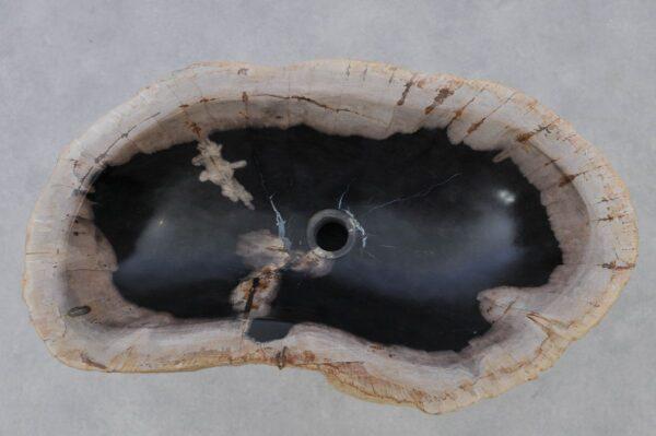 Wash hand basin petrified wood 37353