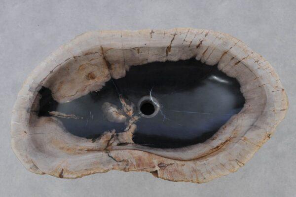 Wash hand basin petrified wood 37354