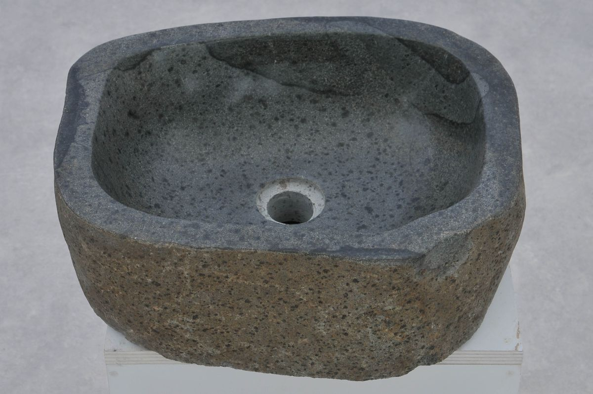 Wash hand basin petrified wood 37364